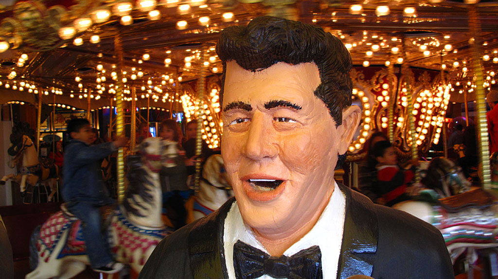 This may look like Uncle Dave, but this is actually a likeness of Dean Martin.