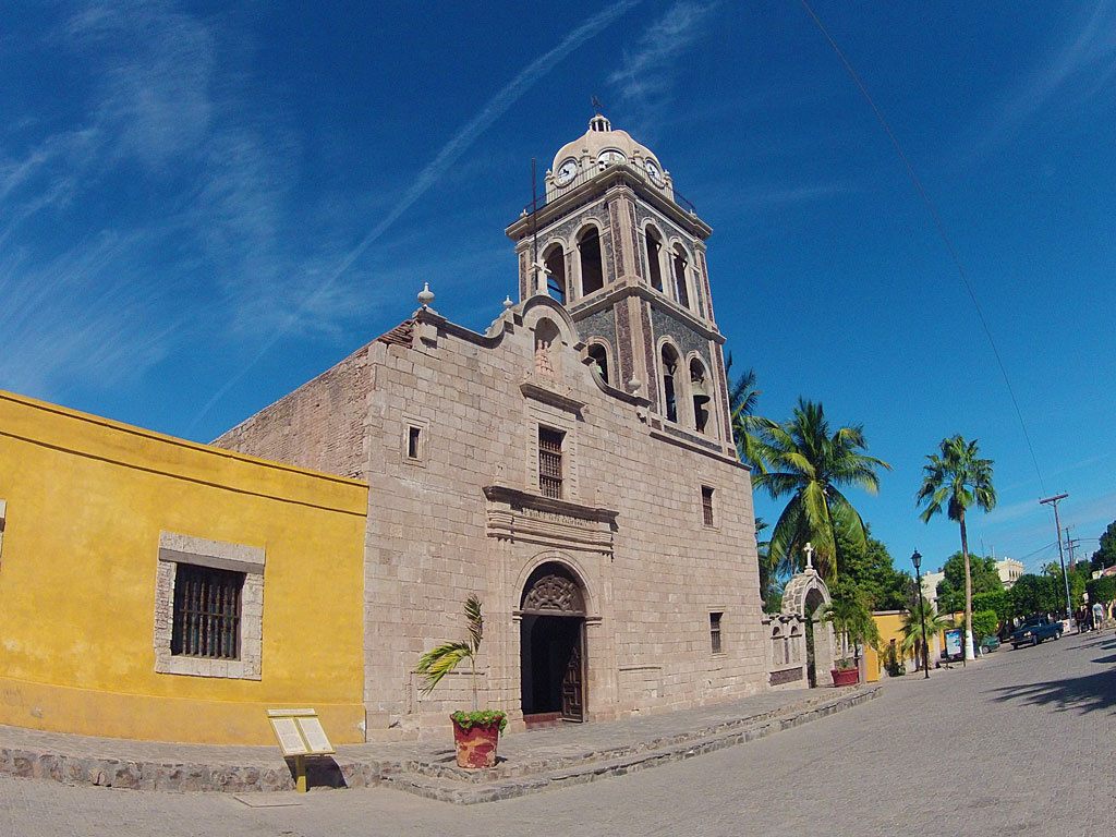 """Misión de Nuestra Señora de Loreto Conchó was founded on October 25, 1697 in the present city of Loreto. Established by the Jesuit missionary Juan María de Salvatierra, this earliest successful mission in Baja California is sometimes considered """"head and mother of all the Spanish missions in Upper and Lower California."""""""