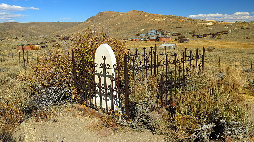 Scallywags and ne'er-do-wells were buried outside the town's cemetery. Chinese residents were laid to rest in a separate cemetery.