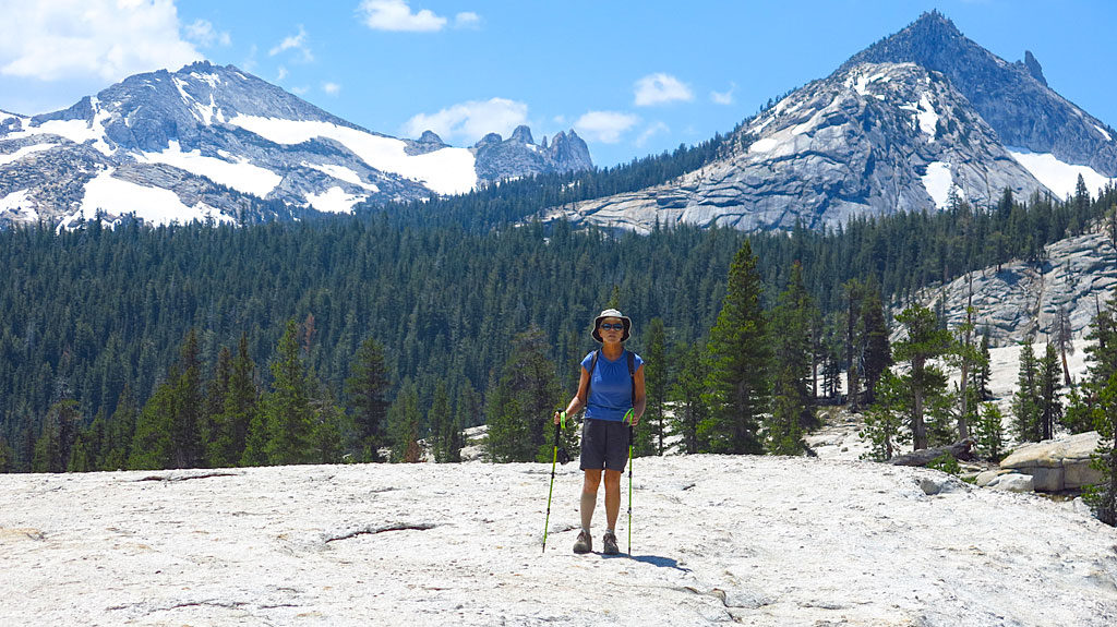 Back in Yosemite again -- this time on top of Pothole Dome, an easy hike with spectacular 360º views.