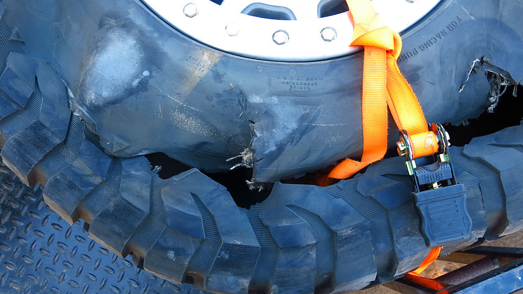 Excessive tire wear can lead to low pressure.