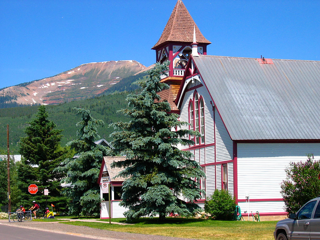 Downtown Crested Butte.