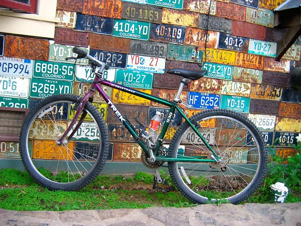 A bike in Crested Butte.