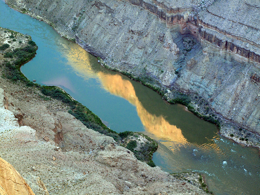 Toroweap is the only place in the Grand Canyon where you can look straight down, 3,000 feet, to the river.