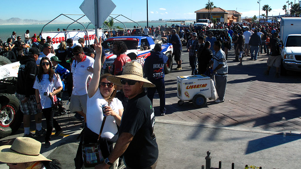 There was a record turn-out at Contingency along the Malecón in San Felipe, including an over-served local, singing the Bad Boys Theme in Spanish.
