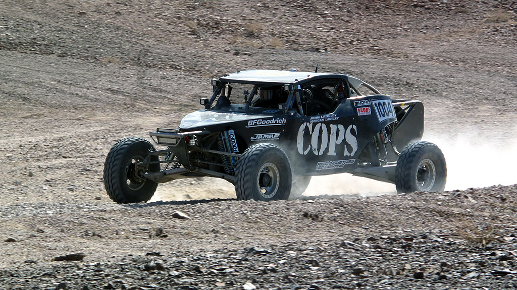 The COPS Class 10 near RM65. Morgan Langley drove the first half of the race sharing duties with John Langley. Mike Howell co-drove the entire race.