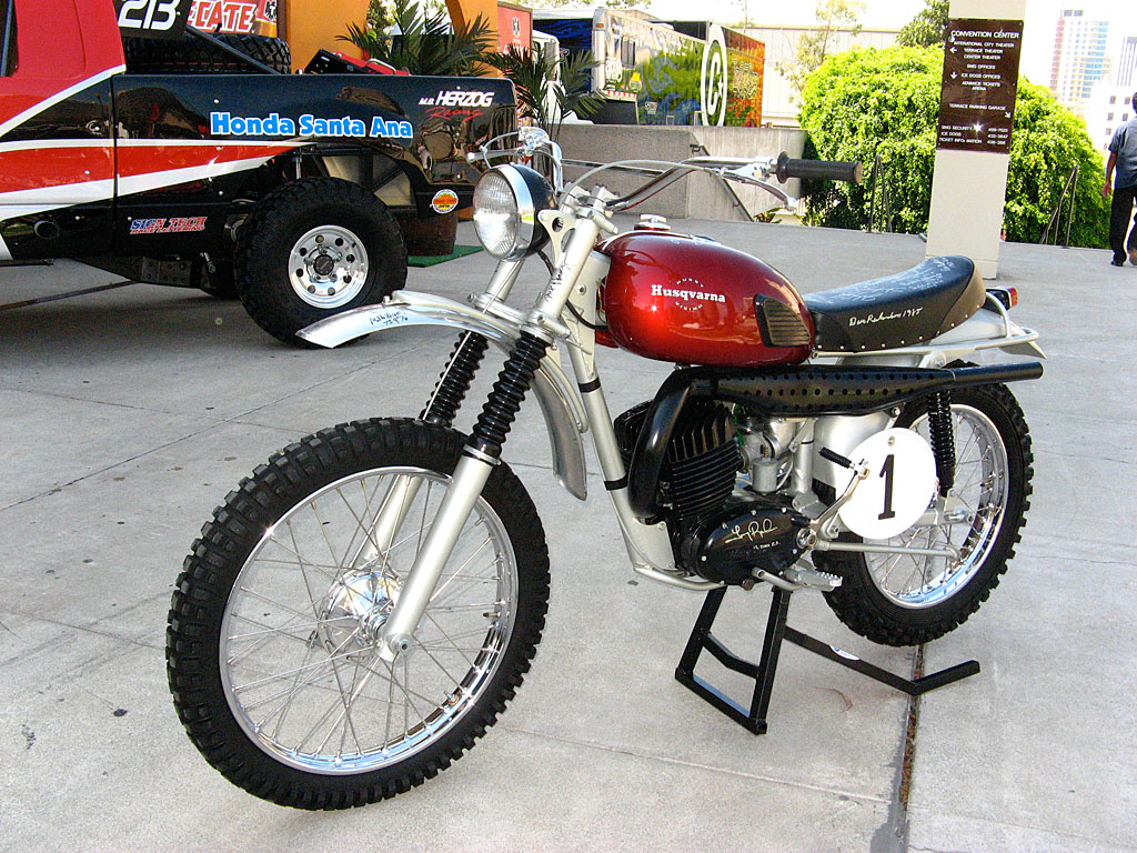 Malcom Smith's Husky.