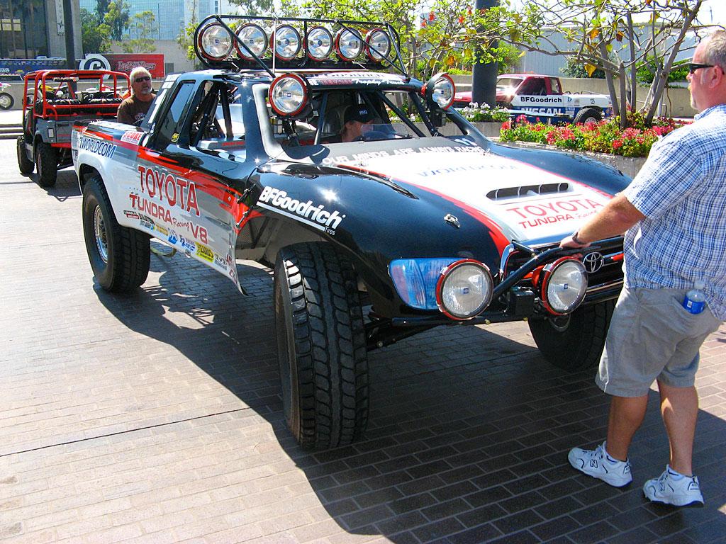 Ivan Stewart's Trophy Truck.