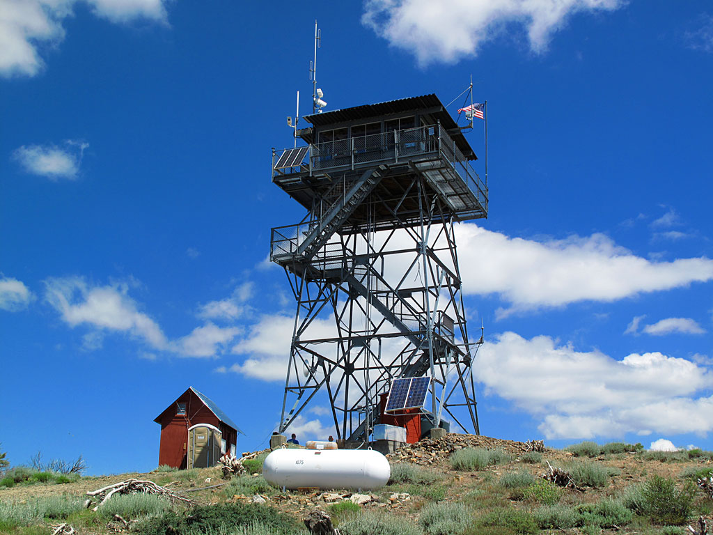 Bald Mountain lookout, still in operation.