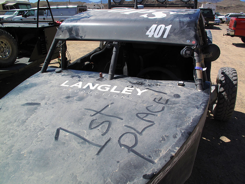 John Langley brought the COPS Class 4 car to a flawless class win.