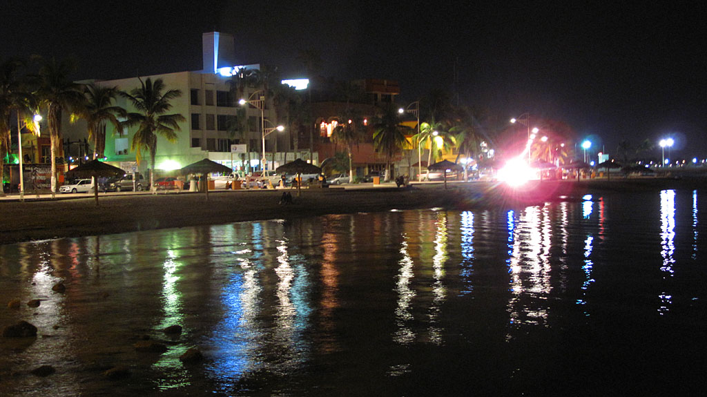 The La Paz malecón.