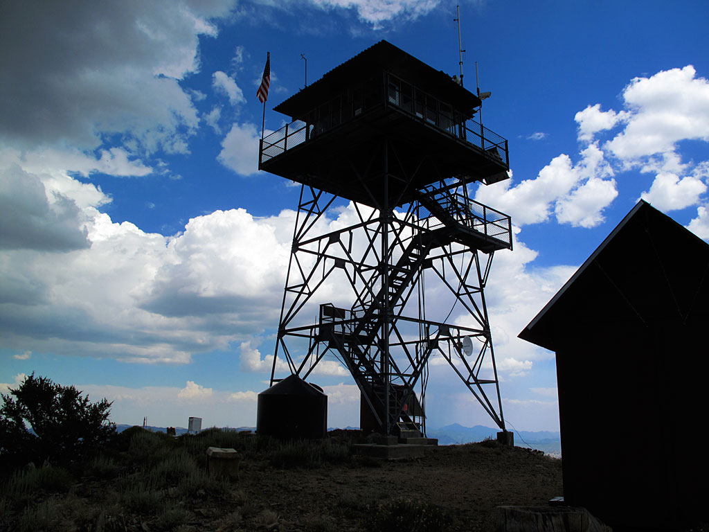 Bald Mountain fire Lookout.