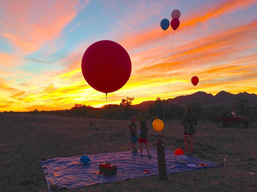 Balloons-at-dusk