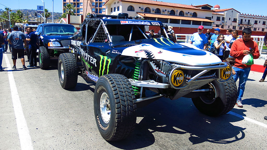 Troy Herbst is the driver of the iconic Terrible Herbst Land Shark, the revolutionary 1994 Smittybuilt truggy.