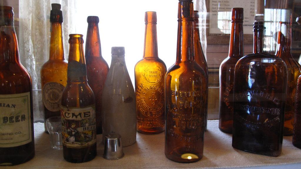Bodie beer bottles.