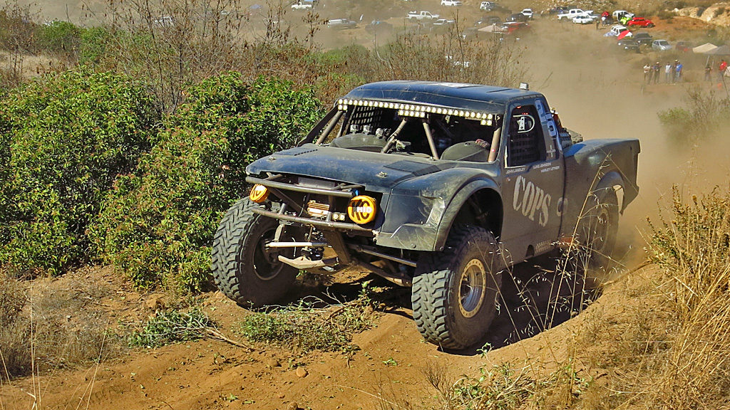 John Langley and Mike Howell in the COPS Racing #250 Trophy Truck Spec.