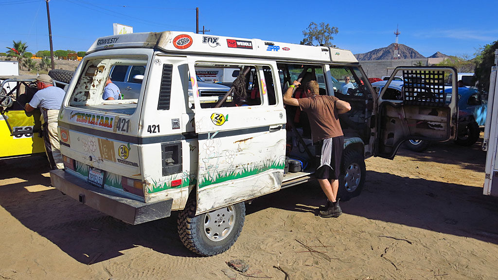 One of the competitors in the 1000 was a 1987 Volkswagen Vanagon in the RV Class, which just returned with a win at the 24 Hours of Lemons.