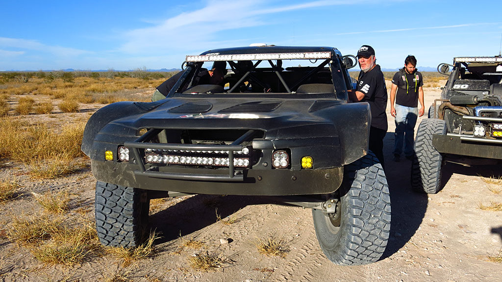 John's Trophy Truck Spec prerunner -- very similar to the all-new #250 Mason truck he will be driving in the race.